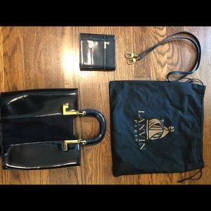 Authentic Lanvin Paris purse and wallet